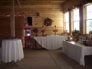 Inside Barn Dining